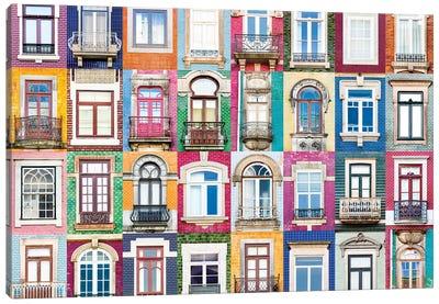 Windows of the World - Porto, Portugal Canvas Art Print