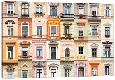 Windows of the World - Brasov, Romania Canvas Art Print