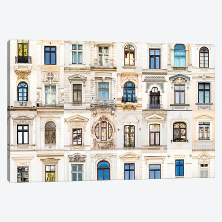 Windows of the World - Bucharest, Romania Canvas Print #AVG57} by Andre Vicente Goncalves Canvas Art Print