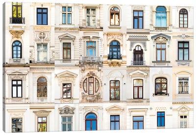 Windows of the World - Bucharest, Romania Canvas Art Print