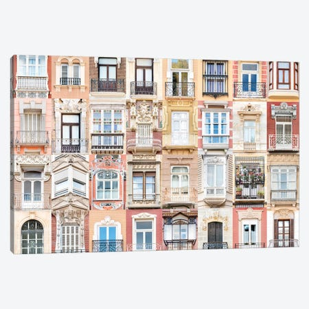 Windows of the World - Cartagena , Spain Canvas Print #AVG59} by Andre Vicente Goncalves Canvas Artwork