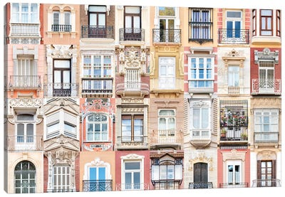 Windows of the World - Cartagena , Spain Canvas Art Print