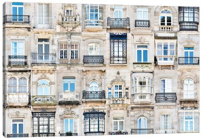 Windows of the World -  Vigo, Spain Canvas Art Print