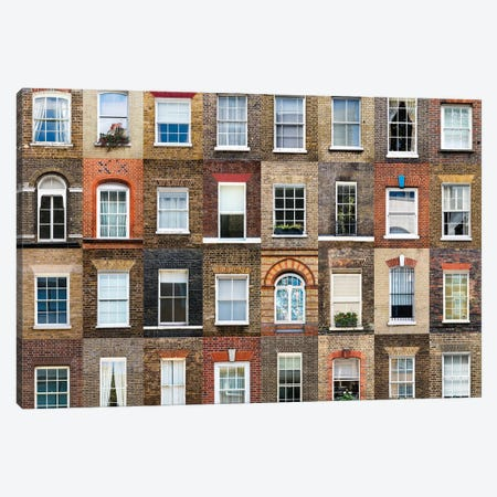 Windows of the World -  London, England Canvas Print #AVG61} by Andre Vicente Goncalves Canvas Print