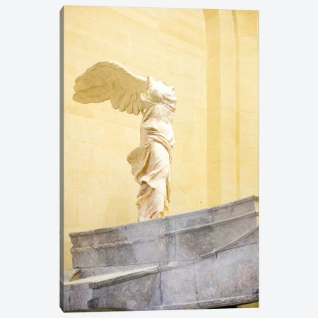 Winged Victory of Samothrace - Musee du Louvre - Paris, Ile-de-France, France I Canvas Print #AVG62} by Andre Vicente Goncalves Art Print