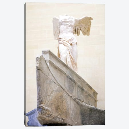 Winged Victory of Samothrace - Musee du Louvre - Paris, Ile-de-France, France II Canvas Print #AVG63} by Andre Vicente Goncalves Canvas Print