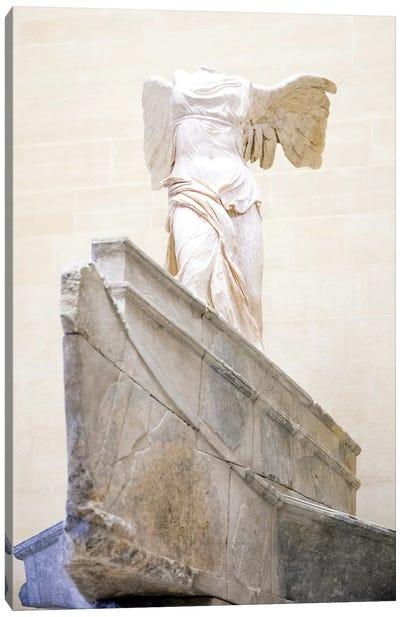 Winged Victory of Samothrace - Musee du Louvre - Paris, Ile-de-France, France II Canvas Art Print
