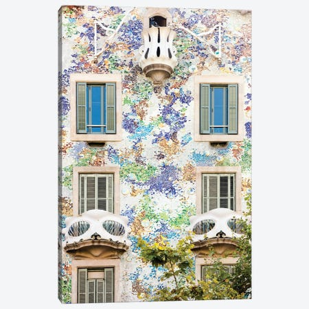 Casa Batllo Barcelona, Catalonia, Spain Canvas Print #AVG65} by Andre Vicente Goncalves Canvas Artwork