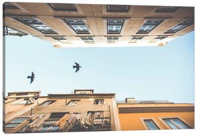 Bairro Alto Lisbon, Portugal Canvas Art Print