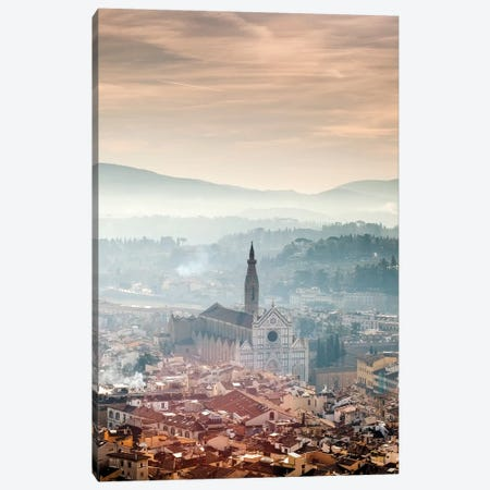 Basilica of Santa Croce - Florence, Tuscany, Italy Canvas Print #AVG8} by Andre Vicente Goncalves Art Print