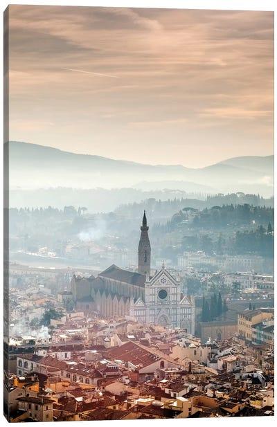 Basilica of Santa Croce - Florence, Tuscany, Italy Canvas Art Print