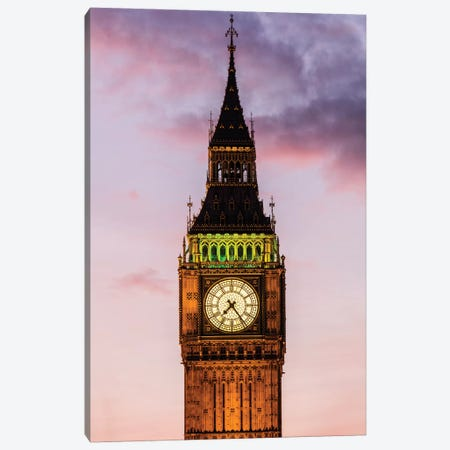 Big Ben - London, England, UK I Canvas Print #AVG9} by Andre Vicente Goncalves Canvas Print