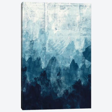Ocean Blue II 3-Piece Canvas #AVI2} by Alicia Vidal Art Print