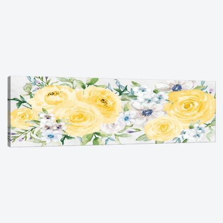 Watercolor Garden I Canvas Print #AVI5} by Alicia Vidal Canvas Art