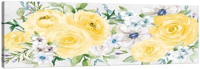 Watercolor Garden I Canvas Art Print