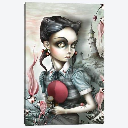 Mildred Takotak Canvas Print #AVK16} by Antenor Von Khan Art Print