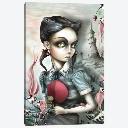 Mildred Takotak Canvas Print #AVK16} by Antenor Von Khan Art Print