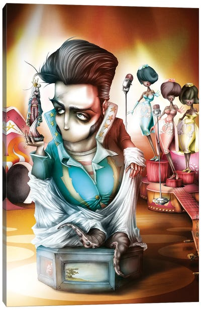 My Proud Elvis Godly Canvas Art Print