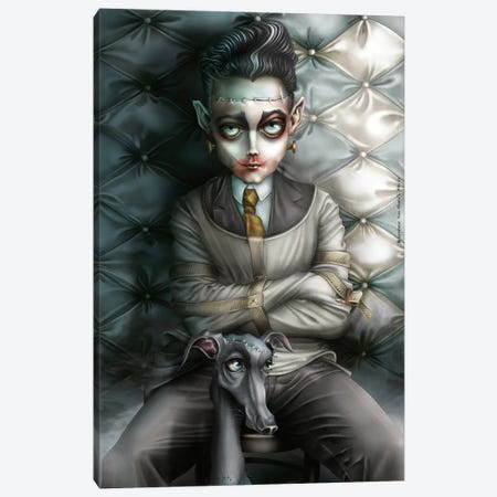Sweet Dr. Franz Canvas Print #AVK23} by Antenor Von Khan Canvas Art Print