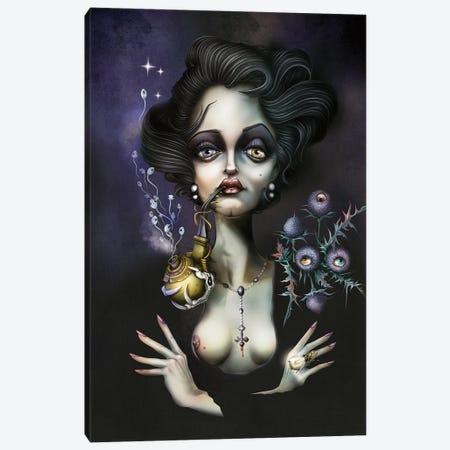 La Pipe Et Le Mamelon Canvas Print #AVK29} by Antenor Von Khan Art Print