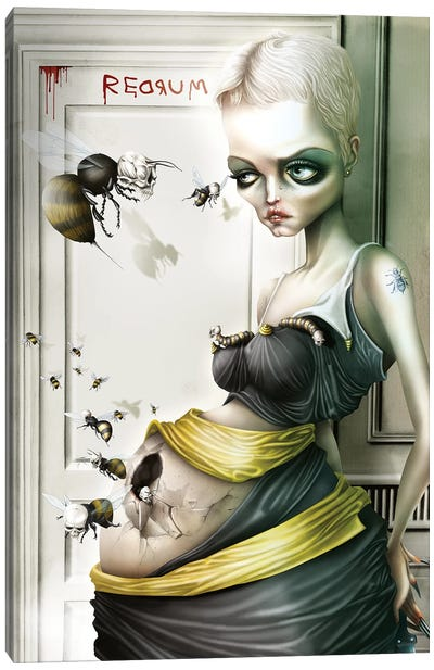 Rosemary, The Queen Bee Canvas Art Print