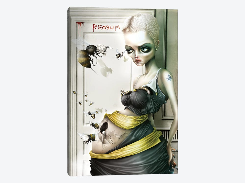 Rosemary, The Queen Bee by Antenor Von Khan 1-piece Canvas Wall Art