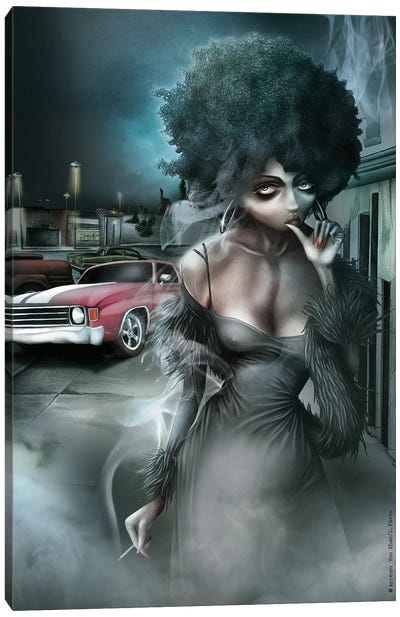 Dirty Diana Canvas Art Print