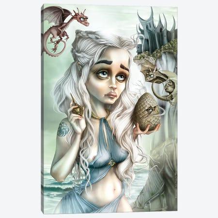 Dragon's Madone Canvas Print #AVK7} by Antenor Von Khan Canvas Artwork