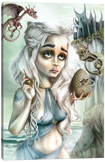 Dragon's Madone Canvas Art Print