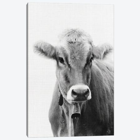 Cow I Canvas Print #AVN21} by Amelie Vintage Co Canvas Artwork