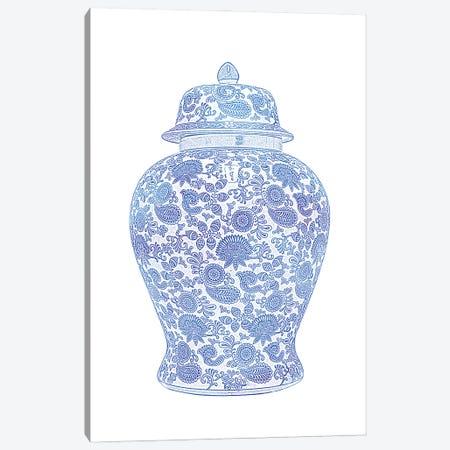 Ginger Jar I Canvas Print #AVN77} by Amelie Vintage Co Canvas Artwork