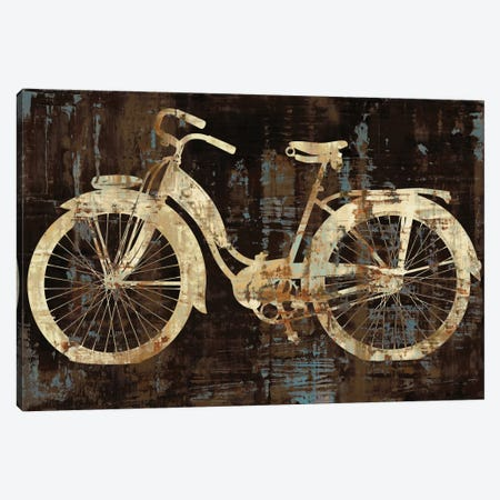 Vintage Ride Canvas Print #AWA12} by Amanda Wade Canvas Print