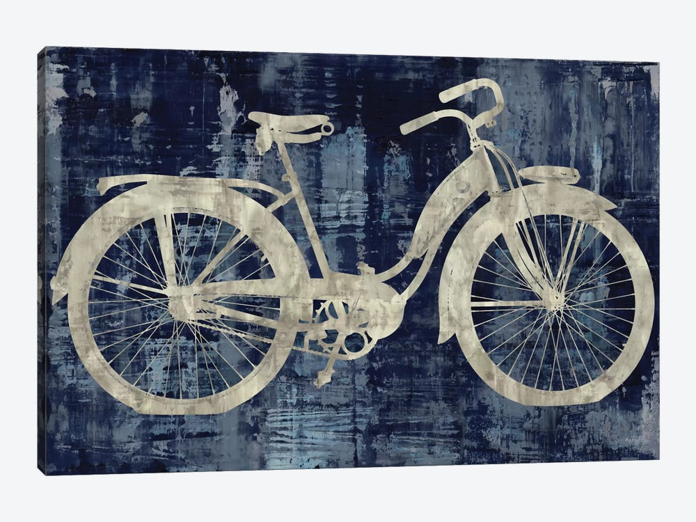 Vintage Ride In Blue by Amanda Wade 1-piece Art Print