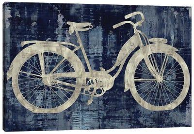 Vintage Ride In Blue Canvas Art Print