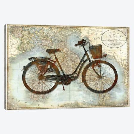 Bike Italy Canvas Print #AWA2} by Amanda Wade Canvas Wall Art