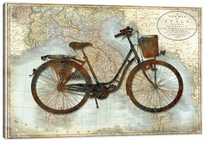 Bike Italy Canvas Art Print