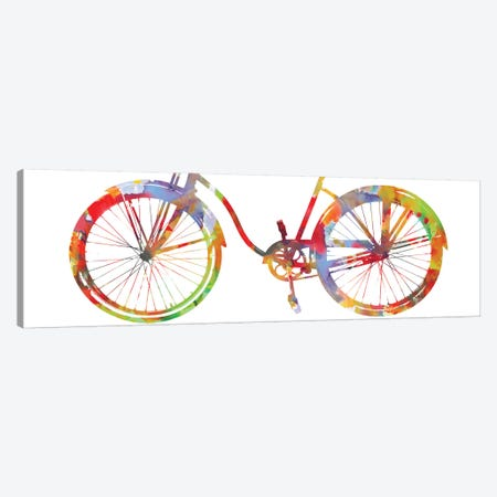 Bike Ride I Canvas Print #AWA3} by Amanda Wade Canvas Wall Art