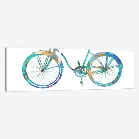 Bike Ride II Canvas Print #AWA4} by Amanda Wade Art Print