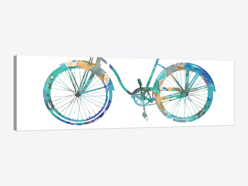 Bike Ride II by Amanda Wade 1-piece Canvas Art