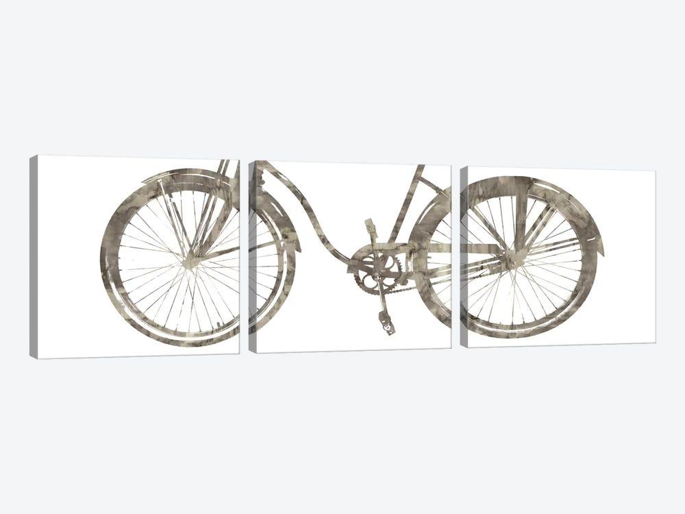 Bike Ride III by Amanda Wade 3-piece Canvas Art Print