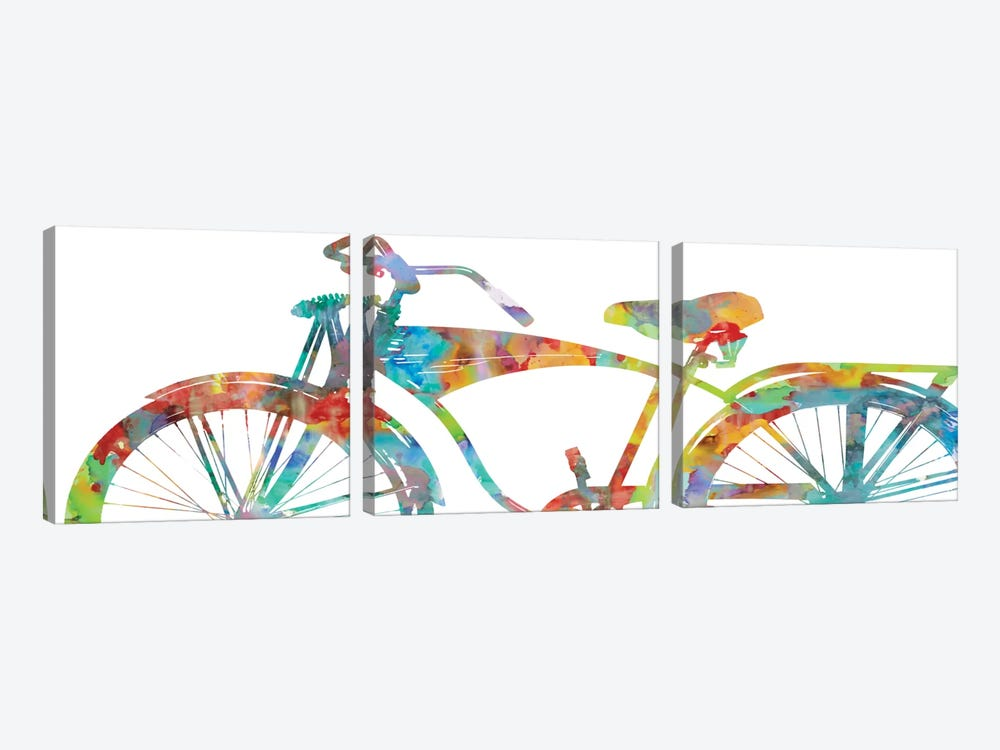 Cruiser I by Amanda Wade 3-piece Art Print