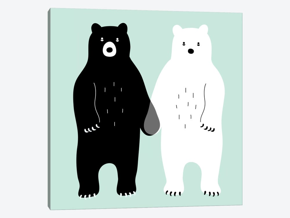 Gray by Andy Westface 1-piece Art Print