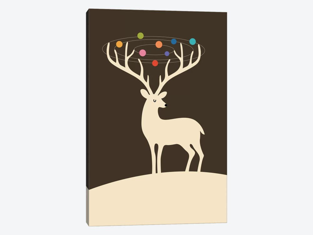 My Deer Universe by Andy Westface 1-piece Canvas Wall Art
