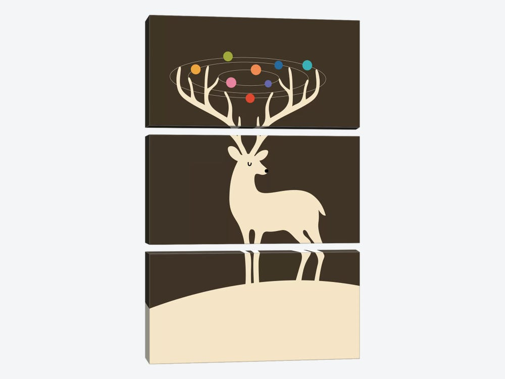 My Deer Universe by Andy Westface 3-piece Canvas Artwork
