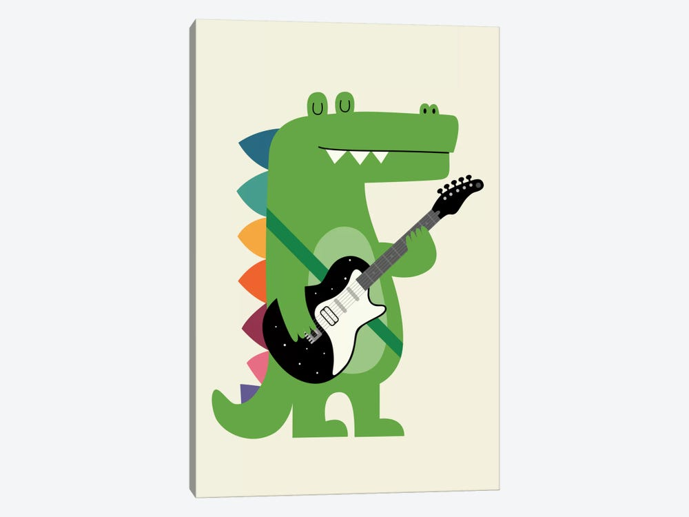 Croco Rock by Andy Westface 1-piece Canvas Art Print