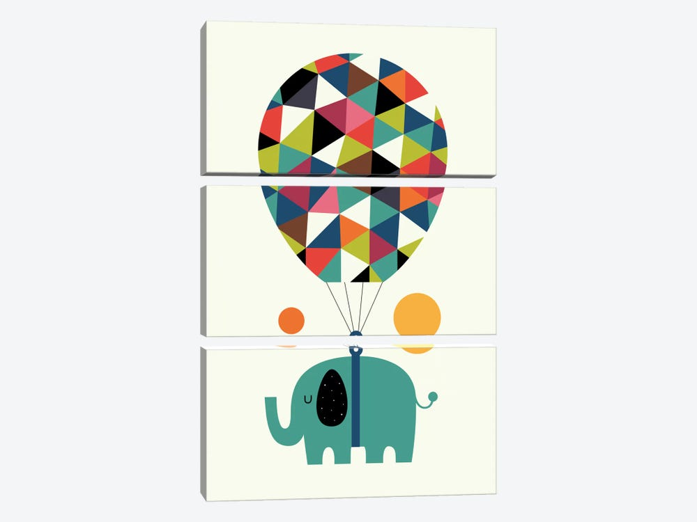 Fly High And Dream Big by Andy Westface 3-piece Canvas Art Print