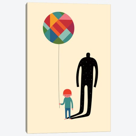 Grow Up Canvas Print #AWE22} by Andy Westface Canvas Art