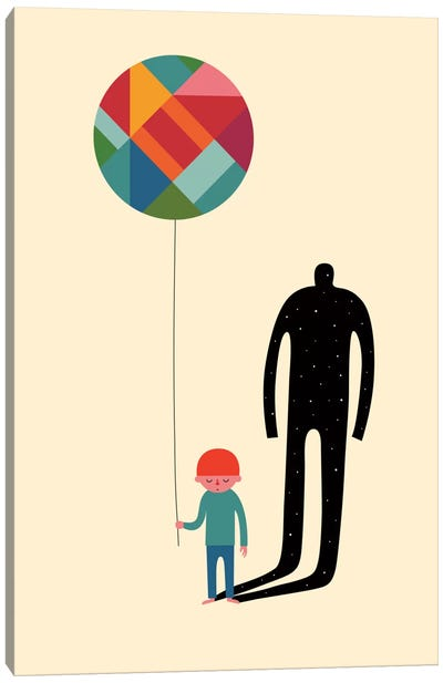 Grow Up Canvas Art Print