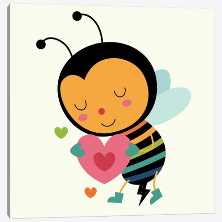 Be Mine Canvas Print #AWE2} by Andy Westface Canvas Wall Art