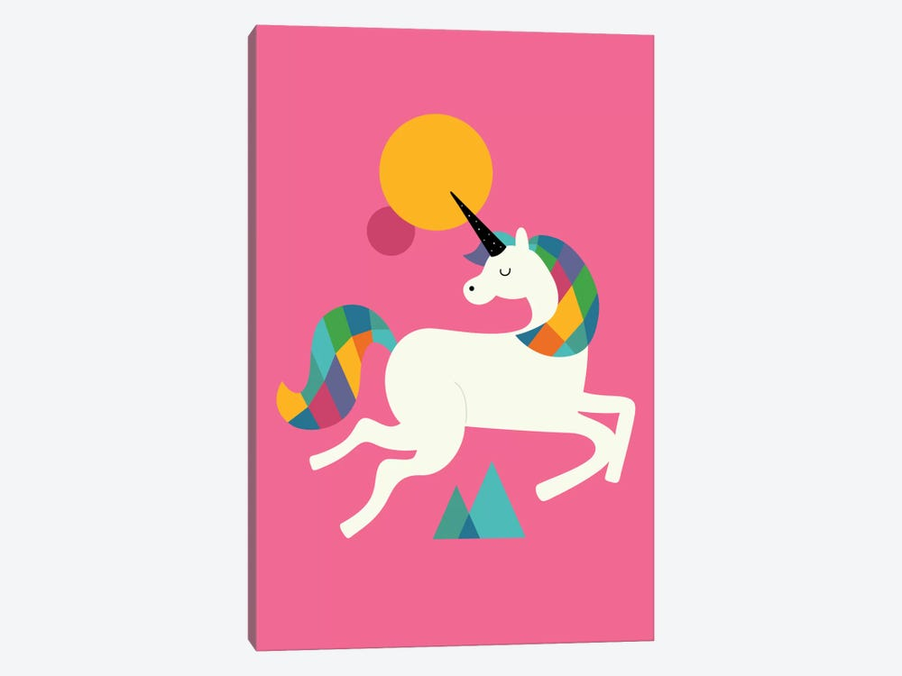 To Be A Unicorn by Andy Westface 1-piece Canvas Art